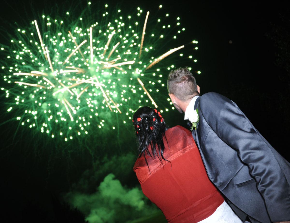 Breena Fireworks - Eventi - Spettacoli per matrimonio